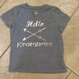 Hello Kindergarten tee